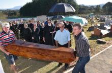 Traslado dos restos mortais do Padre Koval