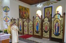 Iconóstase da igreja do Boqueirão