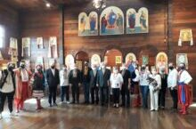 Ucranianos celebram a Ucrânia independente
